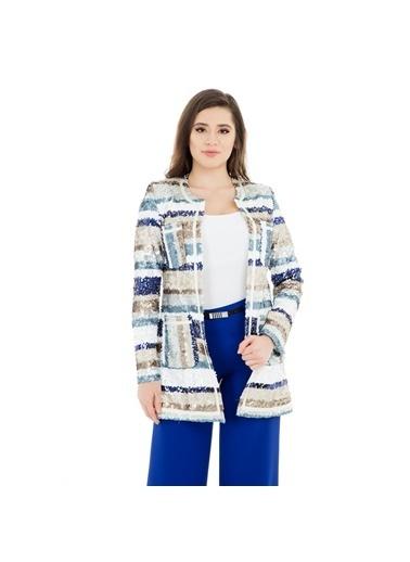 Modailgi Ceket Mavi